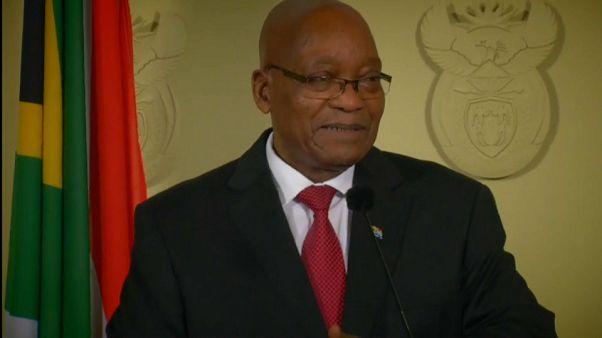 Güney Afrika liderinden beklenen istifa
