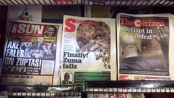Südafrika: Reaktionen auf Zumas Rücktritt
