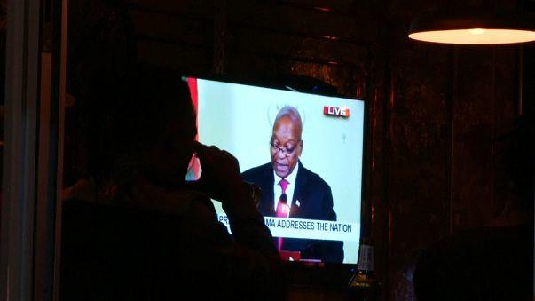 Güney Afrika lideri Jacob Zuma'nın istifası ülkede sevinçle karşılandı