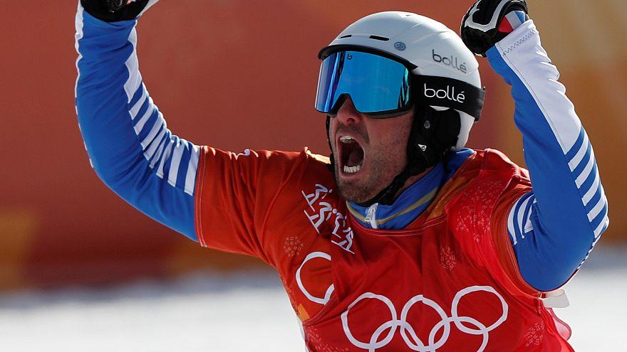 JO : Vaultier conserve son titre en snowboard cross
