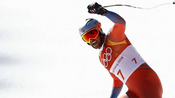 Svindal skis into record books with Downhill win in Pyeongyang
