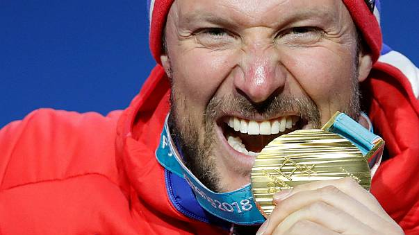 Pyeongchang 2018: golden is olden as Norway's Svindal sets record