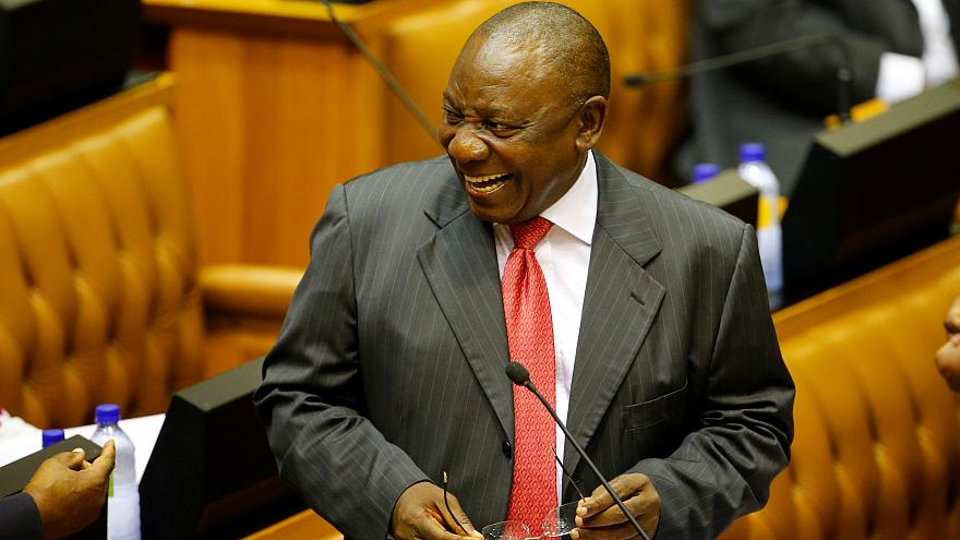 Cyril Ramaphosa elected as South Africa's president