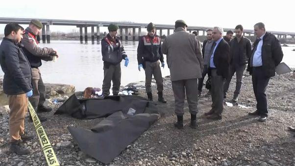 Турецкая семья утонула на пути в Грецию