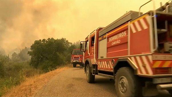 Bruxelas promete 50 milhões de euros para incêndios em Portugal