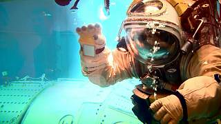 How do you learn to spacewalk?