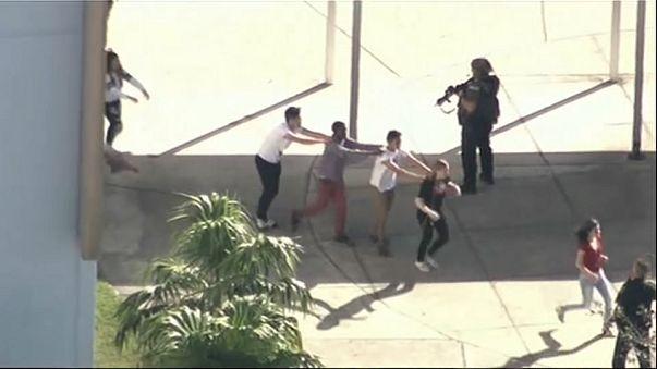 La tragedia del tiroteo del instituto de Florida en imágenes
