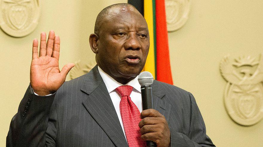 Neuer Präsident Ramaphosa vereidigt