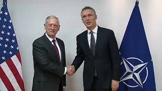 US Secretary of Defense James Mattis and NATO S-G Jens Stoltenberg