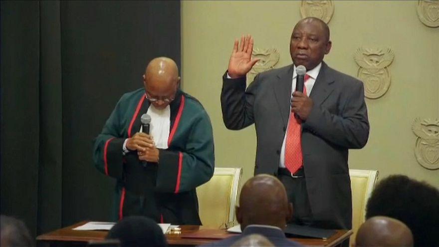 África do Sul vira página política do país