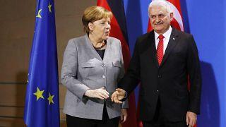 Deutsch-türkischer Gipfel: Merkel trifft Yildirim
