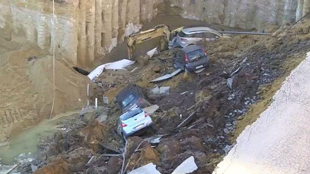 Estrada abate em Roma e obriga a retirar de casa 22 famílias