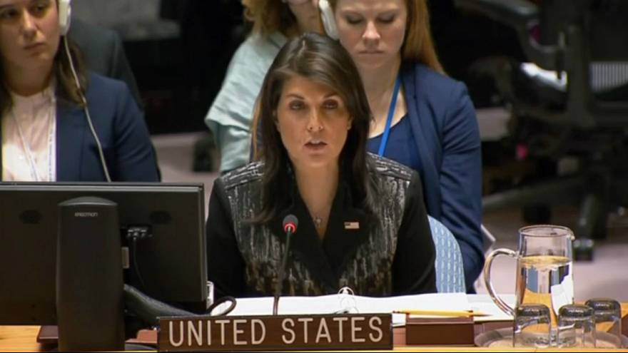 UNITED STATES AMBASSADOR TO THE UNITED NATIONS NIKKI HALEY
