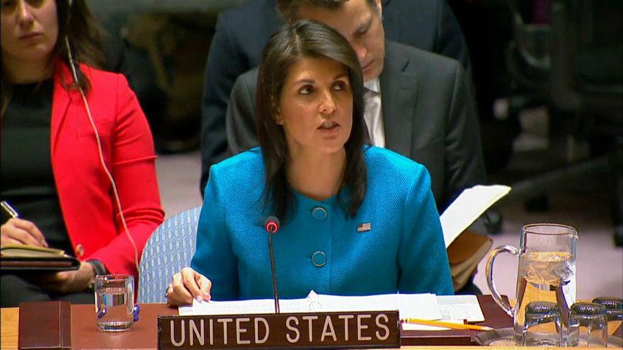 الولايات المتحدة تدعو مجلس الأمن للتحرك ضد إيران