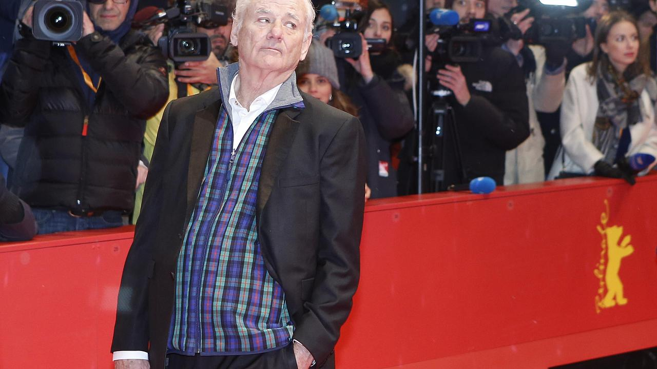 Bill Murray en la alfombra roja de la Berlinale