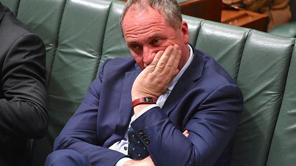 Ο αναπληρωτής πρωθυπουργός της Αυστραλίας, Μπάρναμπι Τζόις