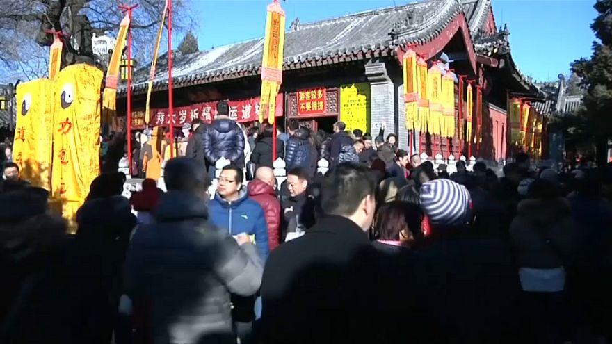В Китае празднуют Новый год по лунному календарю