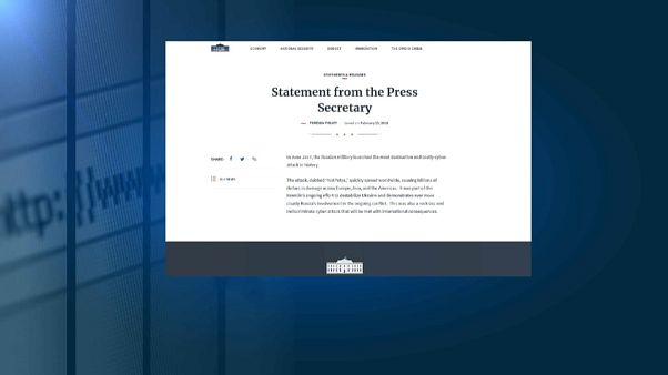EEUU acusa a Rusia de un ciberataque a Ucrania