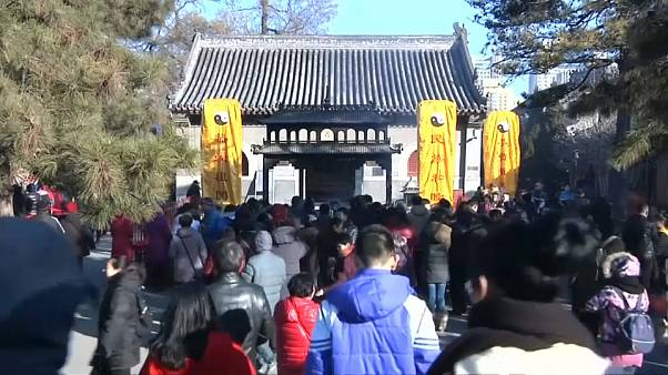 China welcomes Lunar New Year