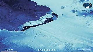 La fonte des glaces en accéléré