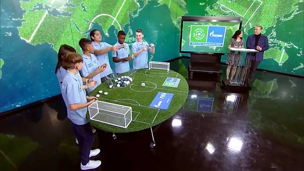 Football for friendship sets stage for 2018 World Cup