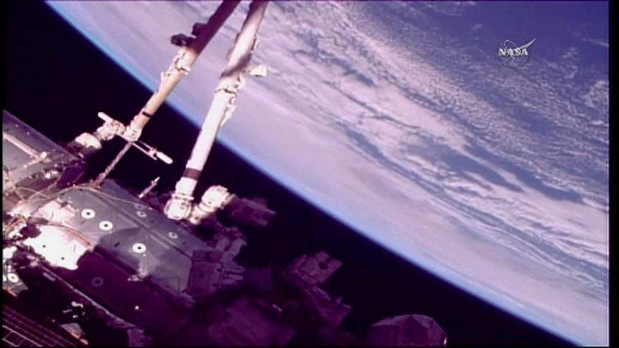 Felújították az ISS robotkarját
