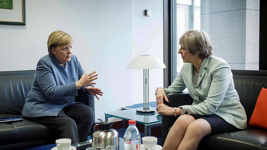 Rueda de prensa de Angela Merkel y Theresa May, en directo