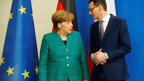 Merkel trifft Polens Regierungschef: Weiter Uneinigkeit über Gas-Pipeline