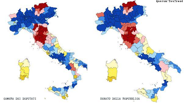 Elezioni 4 marzo, le ultime proiezioni: nessuna coalizione ha i numeri per governare