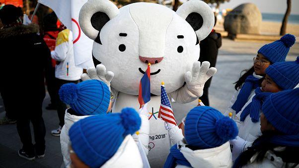 Уронили олимпийского тигра на пол