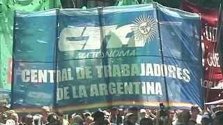 Argentina revive protestas contra las políticas de Mauricio Macri