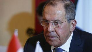 Szergej Lavrov orosz külügyminiszter Münchenben