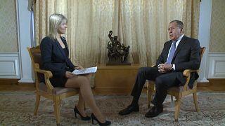 Sergej Lawrow im euronews-Gespräch: Scharfe Kritik an USA
