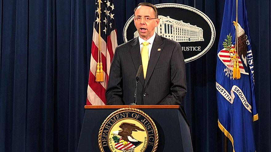Treze russos acusados de influenciar eleições dos EUA em 2016