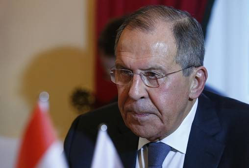 Claims of Russian meddling in US election 'just blather', says Lavrov