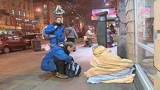 Obdachlosenzählung in Paris
