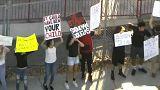 Florida: temetés, tüntetés