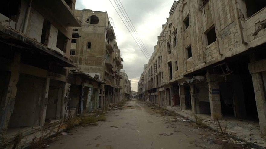 شاهد: بدء جهود إعادة إعمار حمص بعد سبعة أعوام من الدمار