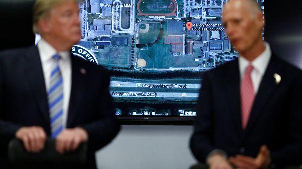 Donald Trump rend visite aux blessés de la fusillade