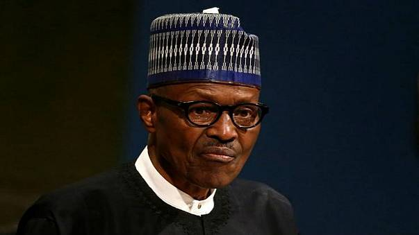 صورة من أرشيف رويترز للرئيس النيجيري محمد بخاري في مقر الأمم المتحدة