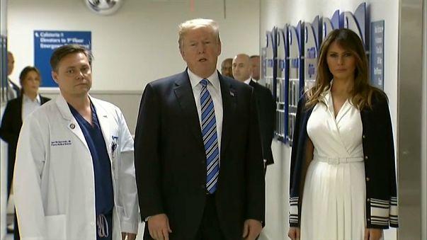Trump'tan Florida'ya taziye ziyareti