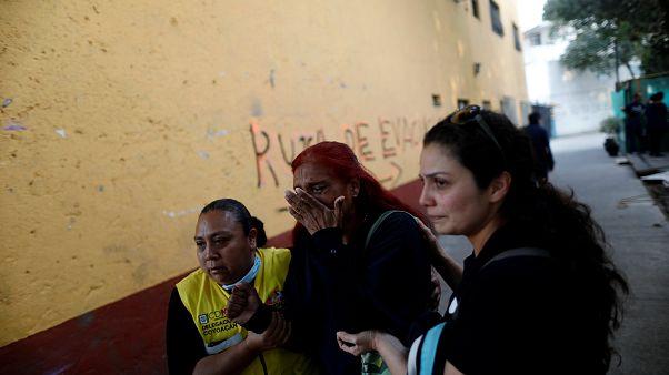 Erdbeben in Mexiko: Minister überlebt Absturz