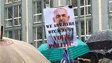 تظاهرات هواداران جنبش روشنایی در مونیخ