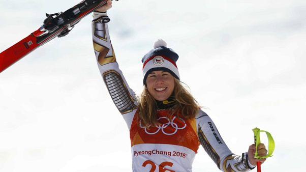 Kış Olimpiyatları: Kayakta Ester Ledecka sürprizi