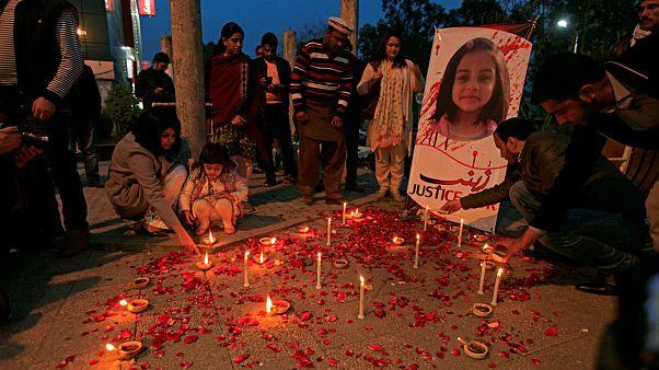condemn the rape and murder of 7 year girl Zainab Ansari in Kasur PAKISTAN