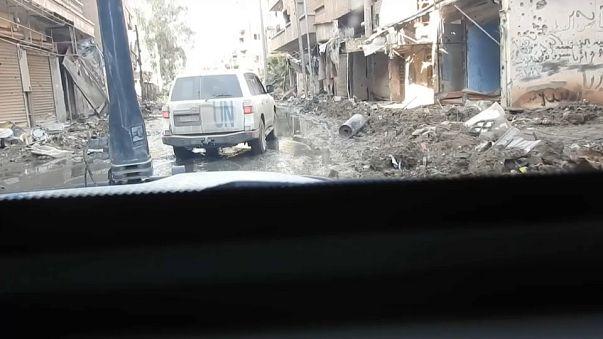 L'ONU est entrée dans Deir ez-Zor
