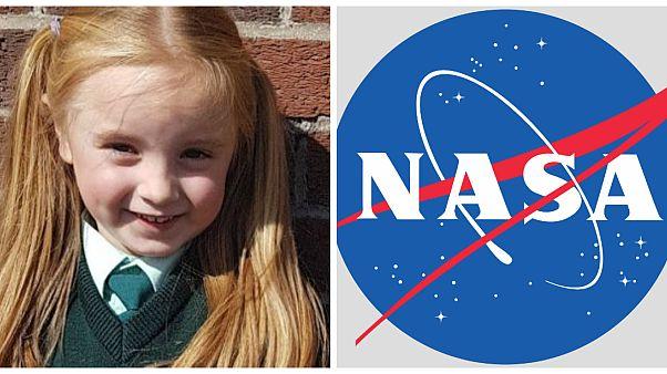 كارا أوكونور الطفلة الأيرلندية التي كتبت رسالة إلى ناسا