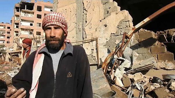 World Food Programme reaches formerly-besieged Deir ez-Zor