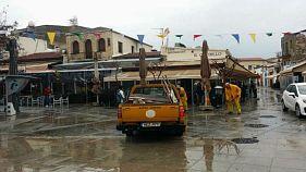 Πλημμύρισε η Λεμεσός - Οι δρόμοι μετατράπηκαν σε ποτάμια