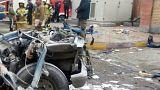 انفجار خودرو در جایگاه سوخت رسانی در تهران پنج زخمی برجای گذاشت